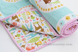 How To Make A Baby Quilt With A Sewing Machine