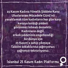 İstanbul 25 Kasım Kadın Platformu'ndan yasaklama kararına karşı Taksim'e  çağrı - HABERLER Son Dakika