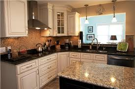 kitchen remodel granite countertops with white cabinets ideas i