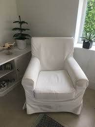 an rp jennylund chair from ikea with white removable loose covers excellent condition