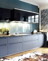 Kitchen Cabinets Blue Blue Kitchen Cabinets Wallpaper White Kitchen Cabinets And Blue