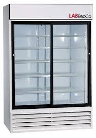 futura plus general purpose series 45 cubic foot double glass sliding door refrigerator item lablg 45 sg 5 413 00
