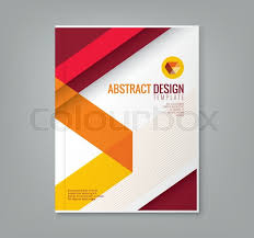 abstract red line design background template for business annual report book cover brochure flyer poster stock vector colourbox