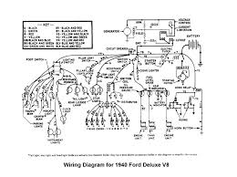 flathead electrical wiring diagrams wiring for 1940 deluxe ford car