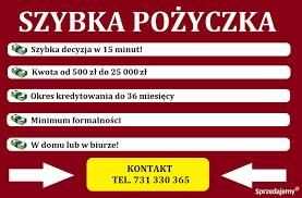 Szybka gotówka Jarocin - Sprzedajemy.pl
