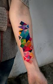 Best 25+ Geometric tattoos ideas on Pinterest | Geometric tattoo ... & Colorful Geometric Tattoo | Best Tattoo Ideas & Designs tatuajes | Spanish  tatuajes |tatuajes para Adamdwight.com