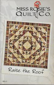15 best Judy Niemeyer Indian Summer images on Pinterest | Indian ... & The log cabin quilt pattern is called Raise the Roof and it was designed by  Miss Adamdwight.com