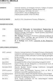 100 Geologist Resume Santosh Civil Engineer Resume Pdf The