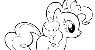 Small Picture My Little Pony Pinkie Pie Coloring Pages