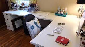 l shaped office desk ikea. L Shaped Office Desk Ikea Luxury Desks \u0026amp; Fice Makeover W