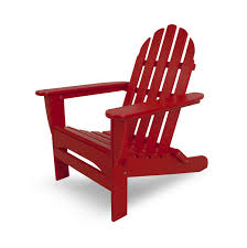 Amazing photo of Recycled Earth Friendly Outdoor Patio Adirondack Chair  Sunset Red with #4F0112 color
