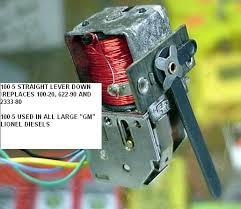 lionel rebuilt e unit at a reasonable price no e unit 105 wrd