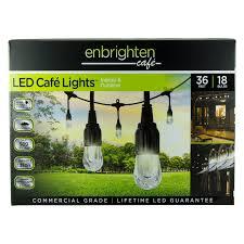 Enbrighten Cafe Lights 36 Feet Pin On Flowers N Garden