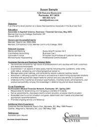 Retail Customer Service Resume Resume Work Template