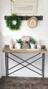 how entryway table decor styling can be