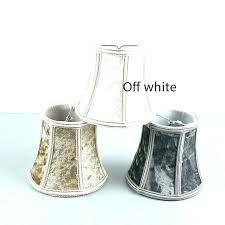 clip on lamp shades chandelier mini light high quality white brown gray 3 color flannel lampshades glass canada