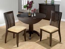 jofran dark chianti double drop leaf dinette set view larger tall kitchen tables