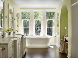 Decorative Windows For Bathrooms Tips Ideas For Choosing Bathroom Window Curtains With Photos