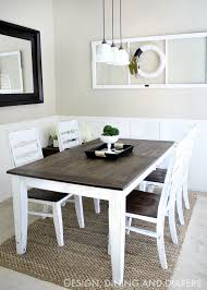 diy dining table and chairs makeover ideas tutorials including this farmhouse table makeover by design dining and diapers