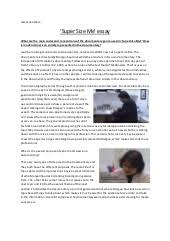 a media coursework supersize me essay