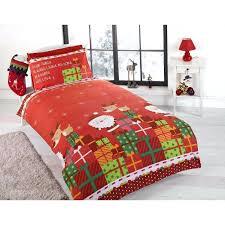 fieldcrest oversized king duvet cover duvet cover bedding sets single double junior santa snowman xmas