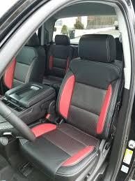 silverado leather seat cover leather interior