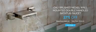 faucet spout material brass