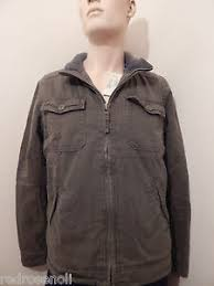 Details About American Eagle Mens Olive Green Utility Field Jacket Winter Ae Coat L New