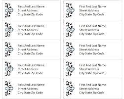 Avery Return Address Labels Template Shatterlion Info