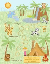 Chart Jungle Custom Child Behavior Incentive Chart Jungle Printable