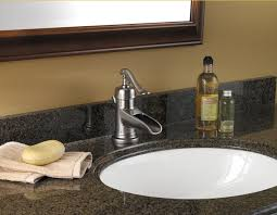 bathrooms faucets. buy the pfister brushed nickel direct. shop for ashfield single hole bathroom sink waterfall faucet and save. bathrooms faucets