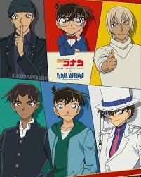"""🔎Detective Conan🔍 on Instagram: """"Everyone's DC crush gathered in one  pic💓 Ok I'm not gonna …   Detective conan wallpapers, Detective conan,  Manga detective conan"""
