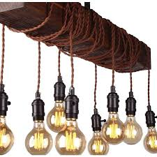 33 absolutely ideas wood beam chandelier 8 light whoselamp diy rustic edison bulb hanging