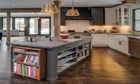 Kitchen Island Open Shelves Kitchen Island Open Cookbook Shelves Kitchen Island Bookcase