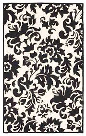 black and white rug patterns. Delighful And Black And White Kitchen Rugs Best Incredible Round Rug  Black  And White Damask Outdoor Rug Throughout Patterns