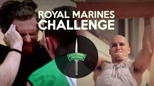 royal marines fitness challenge walters shieff