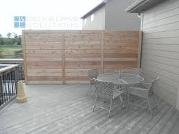 Deck Privacy Wall Designs New Custom Privacy Wall On Deck Deck And Drive Solutions