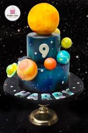 Space Birthday Cake Designs