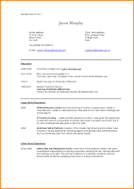 Classy Law Student Resume Format For Your 100 Sample Resume Law