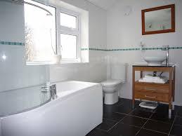 tiled bathroom ideas featuring gray