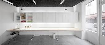 minimalist office interior design. simplicity and minimalist basic office design by betillon dorvalbory architectes home inspiration interior