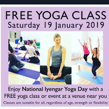 nikki s iyengar yoga on twitter our free cl celebrating national iyengar yoga day 2019 is on wednesday 16th january for anyone that has never tried