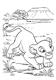 Small Picture Lion King Coloring Pages Nala And Simba Az Coloring Home