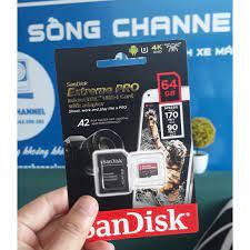 Thẻ nhớ MicroSDXC SanDisk Extreme PRO A2 - 64GB V30 U3 170MB/s - Thẻ nhớ  máy ảnh