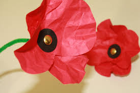 Make A Paper Poppy Flower Paper Poppies Tallys Treasury