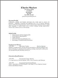 Copy Of A Blank Resume Blank Template For Cv Dalefinance Com