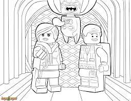 The Lego Movie Coloring Page Lego Wyldstyle Emmet Batman