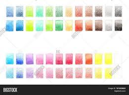 Watercolor Palette Chart Color Palette Image Photo Free Trial Bigstock