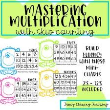 Multiplication With Skip Counting