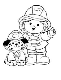 Small Picture Free Firefighter Coloring Pages for preschoolers Enjoy Coloring